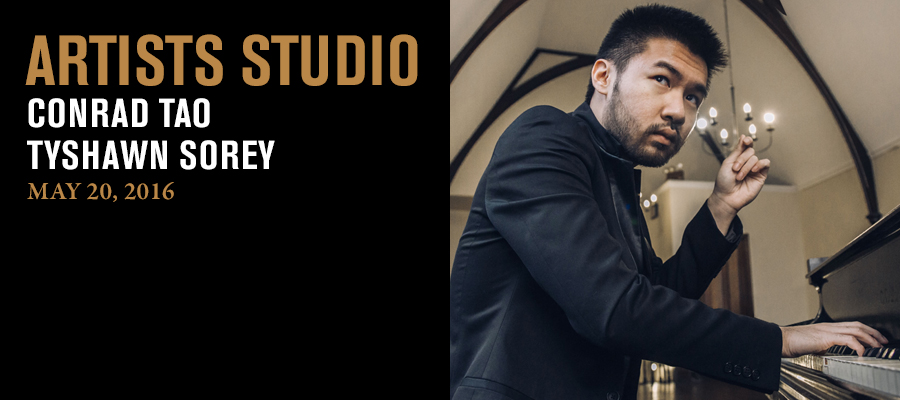 Artists Studio: Conrad Tao and Tyshawn Sorey