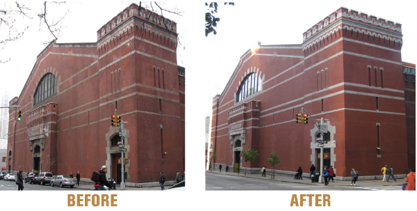 In 2010 Park Avenue Armory Completed A Much Needed Renovation Of The Lexington Faade