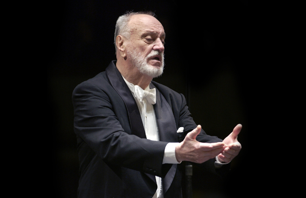 Photo from Kurt Masur Conducting Seminar and Concert on April 22, 2009