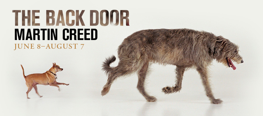 Martin Creed: The Back Door