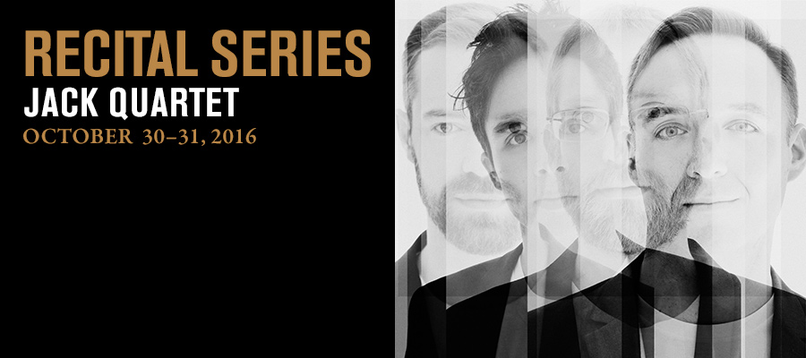 Recital Series: JACK Quartet