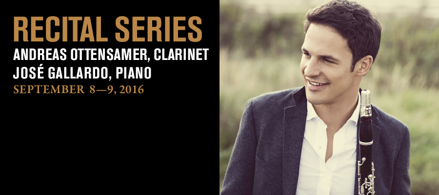 Recital Series: Andreas Ottensamer