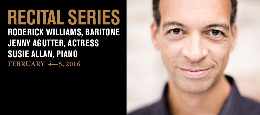 Recital Series: Roderick Williams