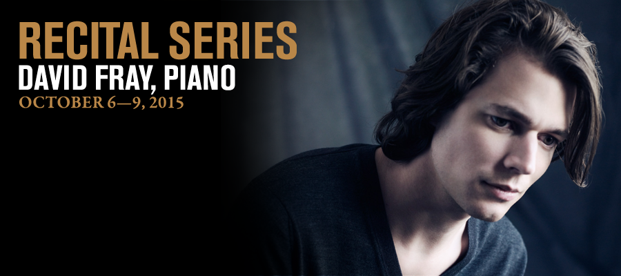 Recital Series: David Fray