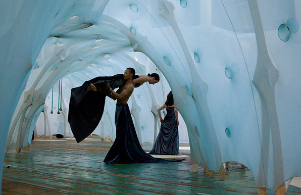 Photo from Shen Wei Dance Arts responds to anthropodino on June 2, 2009
