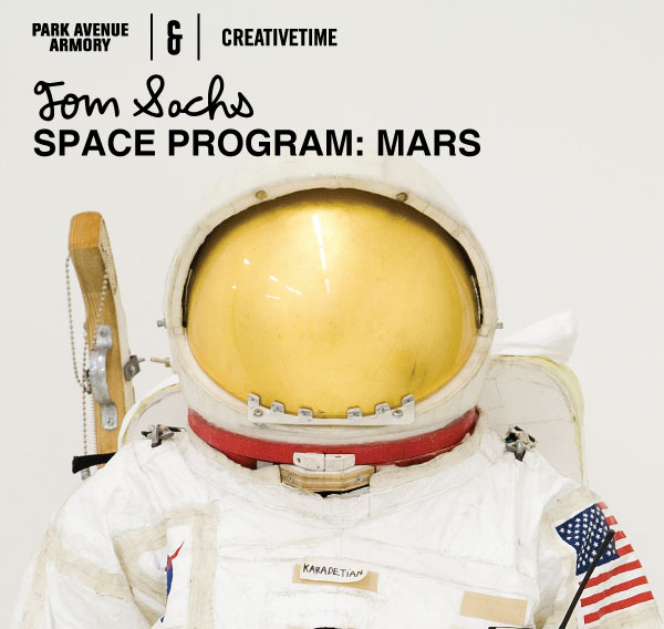 Photo from Tom Sachs: SPACE PROGRAM: MARS on May 18, 2012
