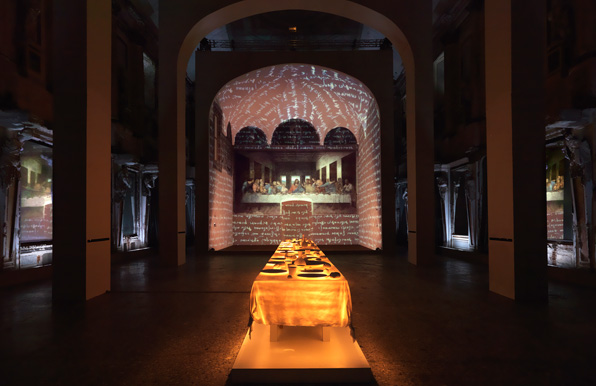 Photo from Leonardo's Last Supper: A Vision by Peter Greenaway on December 2, 2010