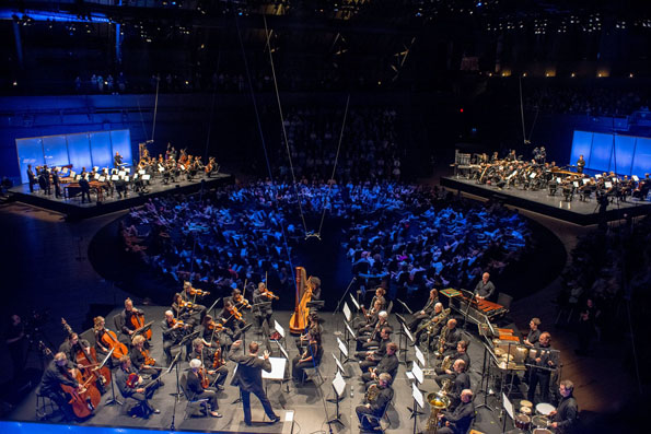 New York Philharmonic, 2012, Photo by Stephanie Berger