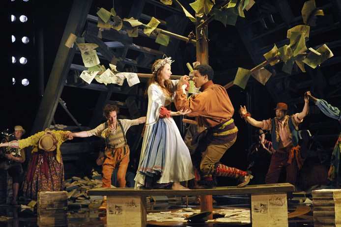 The Royal Shakespeare Company: The Winter's Tale - July 6 — August 14, 2011 <br> Photo by Stephanie Berger